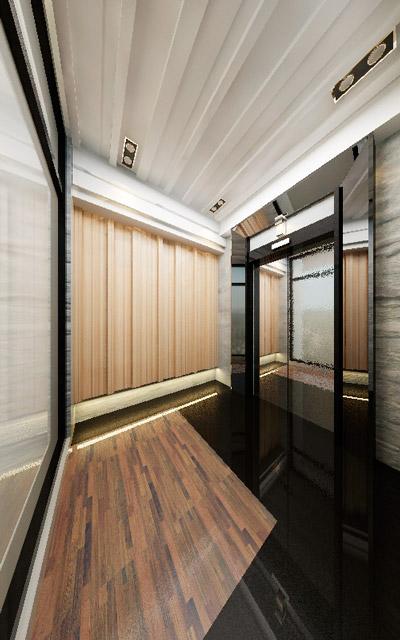 Borderland Design Center » Ho-Ping East Rd. – Elevator Hall